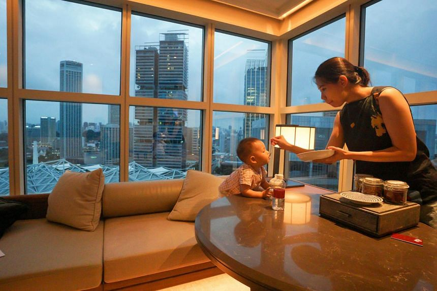 The business hotel has pulled out all the stops to become a staycation destination for young families.