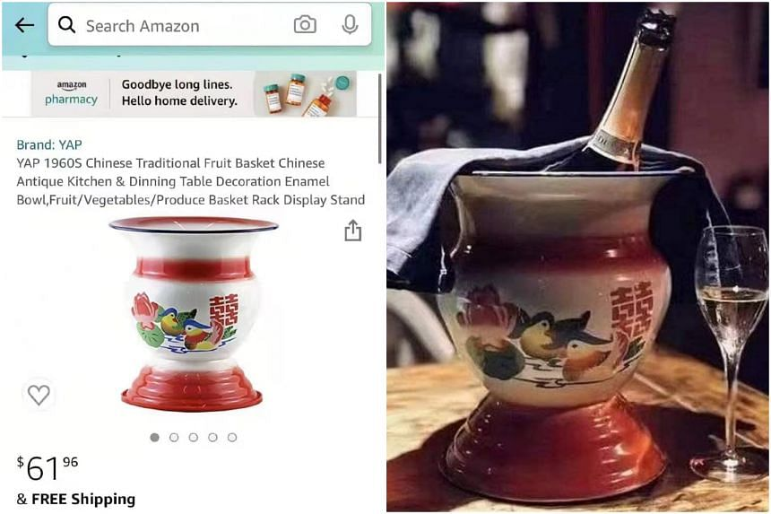 The chamber pot, or spittoon, is being sold online for more than 10 times its normal price in China.