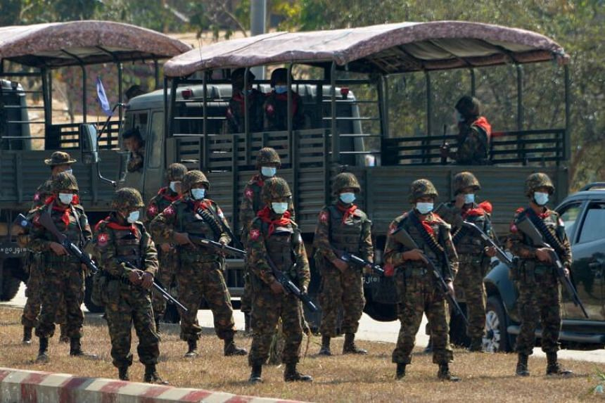 Myanmar's army staged the coup after the electoral commission rejected its accusations of fraud in the November poll.