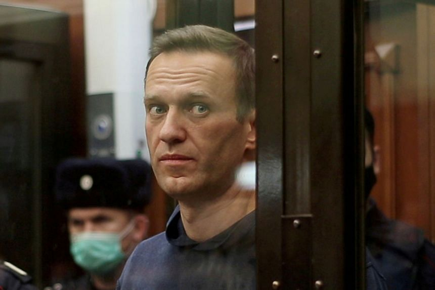 Kremlin critic Alexei Navalny was jailed last month after returning to Moscow from Germany.