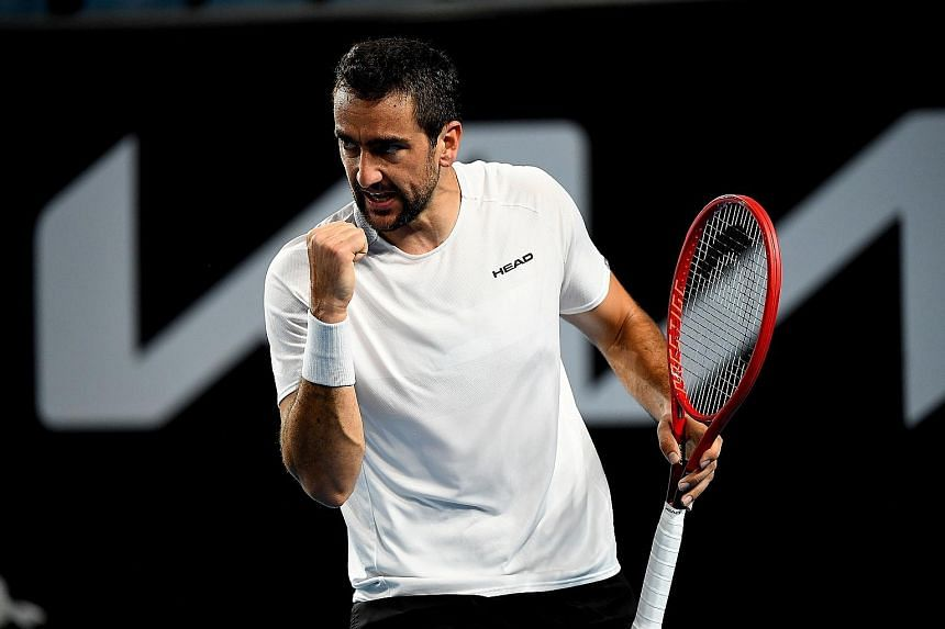 Having played and beaten tennis' best, Marin Cilic points to his pushing himself daily as the hardest part of life at the top.