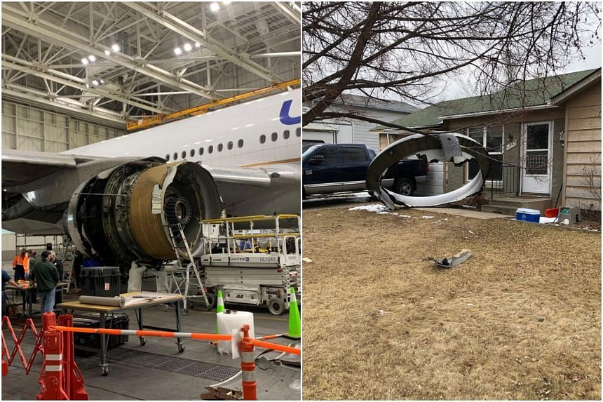 The incident on the flight out of Denver prompted United and other airlines to ground planes with the same Pratt & Whitney engine.