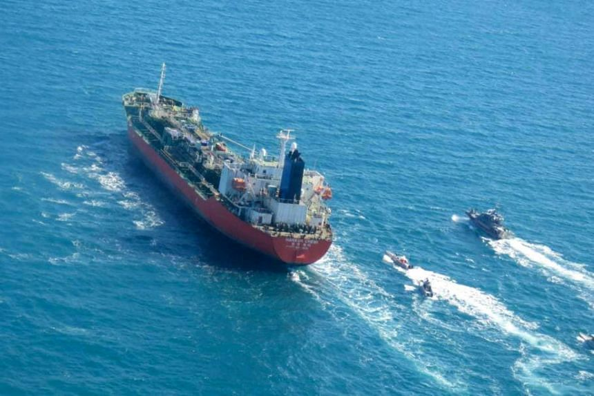 Iran seized a South Korean-flagged tanker in Gulf waters in January after Teheran had urged Seoul to release billions of dollars of frozen Iranian assets.