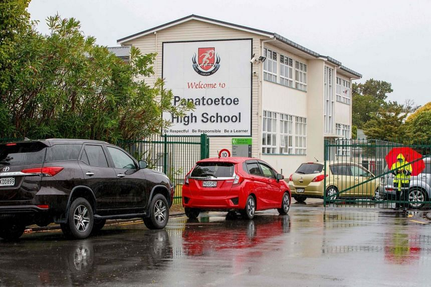 A student from Papatoetoe High School in Auckland and the student's siblings tested positive for Covid-19.