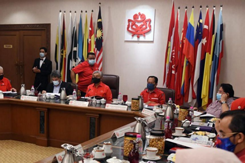 One key issue expected to be discussed at the Umno meeting is a motion to cut ties with Bersatu.