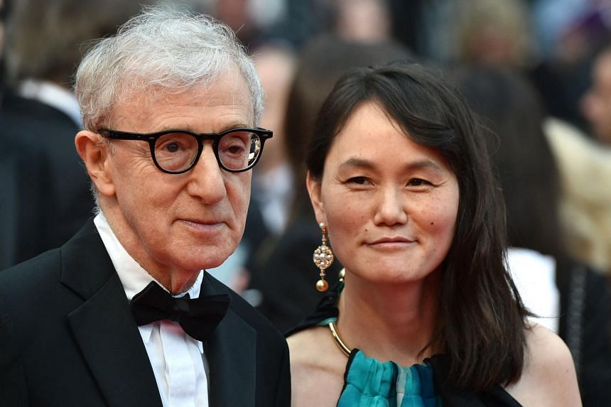 Woody Allen (left) has repeatedly denied molesting his adopted daughter Dylan Farrow.
