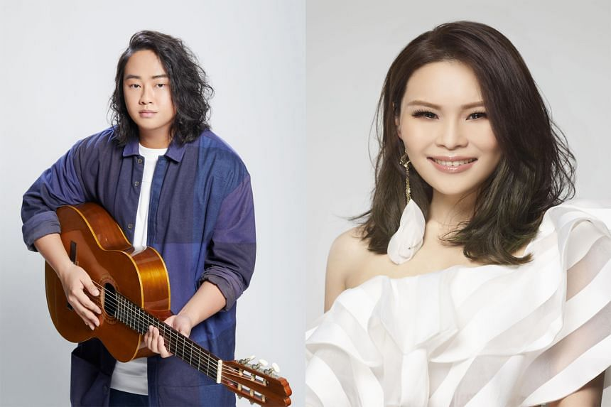Taiwanese singers Where Chou (above) and Yuming Lai (left) look set to be the first overseas acts to host live concerts in Singapore this year.