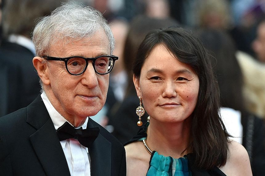 Woody Allen and his wife Soon-Yi Previn (both left in a file photo) have attacked a new HBO documentary that re-examines a decades-old allegation that he molested his adopted daughter Dylan Farrow.