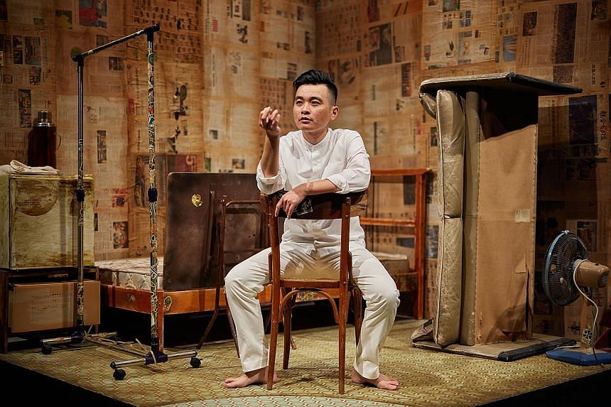 Liu Xiaoyi (above) stars in Citizen X, presented by The Finger Players and Esplanade as part of the Huayi Festival.