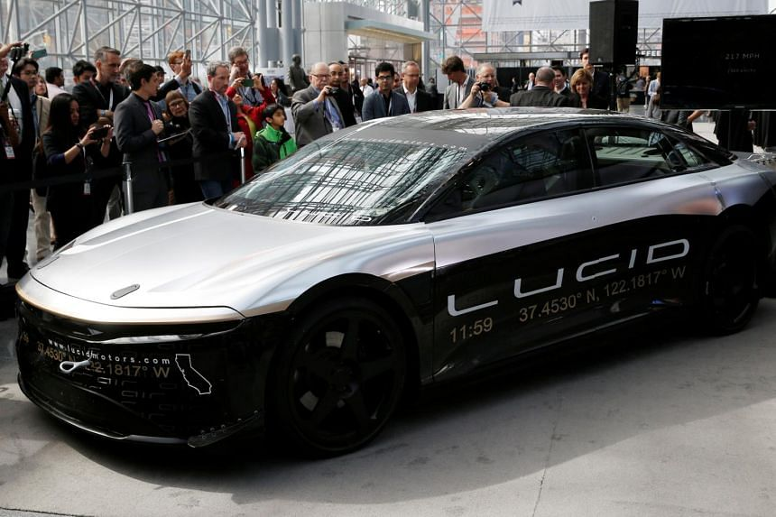 Lucid Motors' first electric car, the luxury Air, won't go in production now until late 2021.