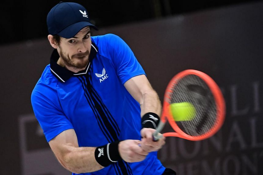 Andy Murray was playing his first ATP Tour event since last October.