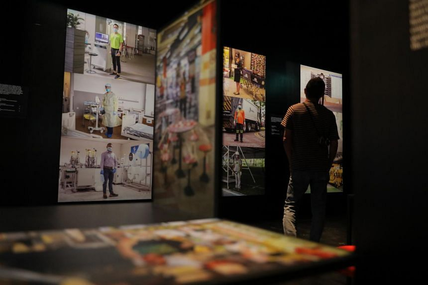 National Museum's new show Picturing The Pandemic.