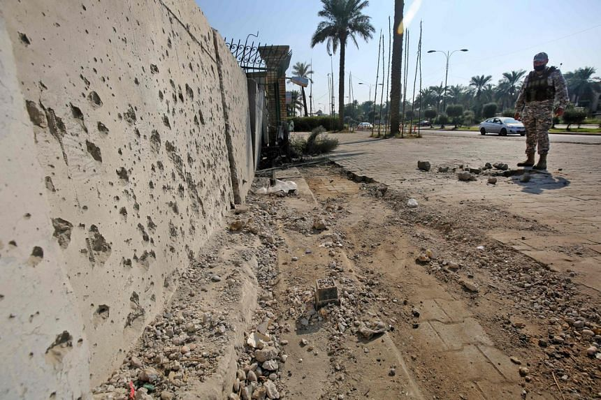 On Feb 22, at least three rockets targeted the US embassy in the high-security Green Zone of Iraq's capital Baghdad.