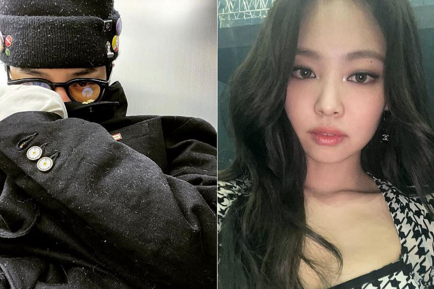 BigBang's G-Dragon and Blackpink's Jennie (both above) have known each other for more than a decade.
