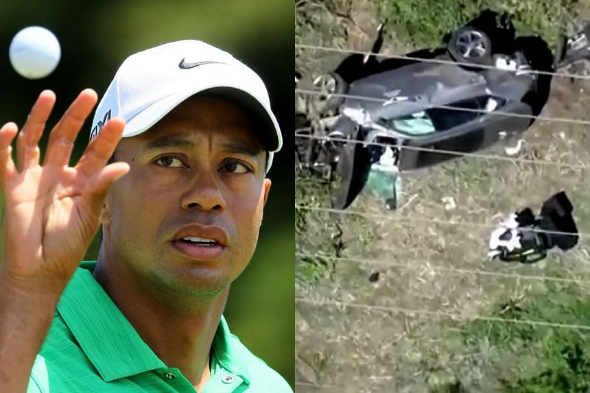 Tiger Woods injured in vehicle  accident - NationNews Barbados