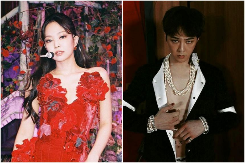 The report said that Jennie would go daily to G-Dragon's place in Seoul's Hannam-dong.