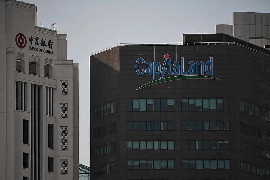 CapitaLand said revenue rose 9.8 per cent to $4.51 billion for the second half, mainly due to a higher handover of units from residential projects in China and Vietnam. The firm racked up a net loss of $1.57 billion for the full year, from a net prof