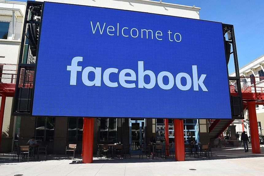 Facebook's offices in Menlo Park, California. Australia's row with Facebook has reignited the regulatory debate in the EU, which sees the need for laws to compel tech giants to pay publishers for using news content.