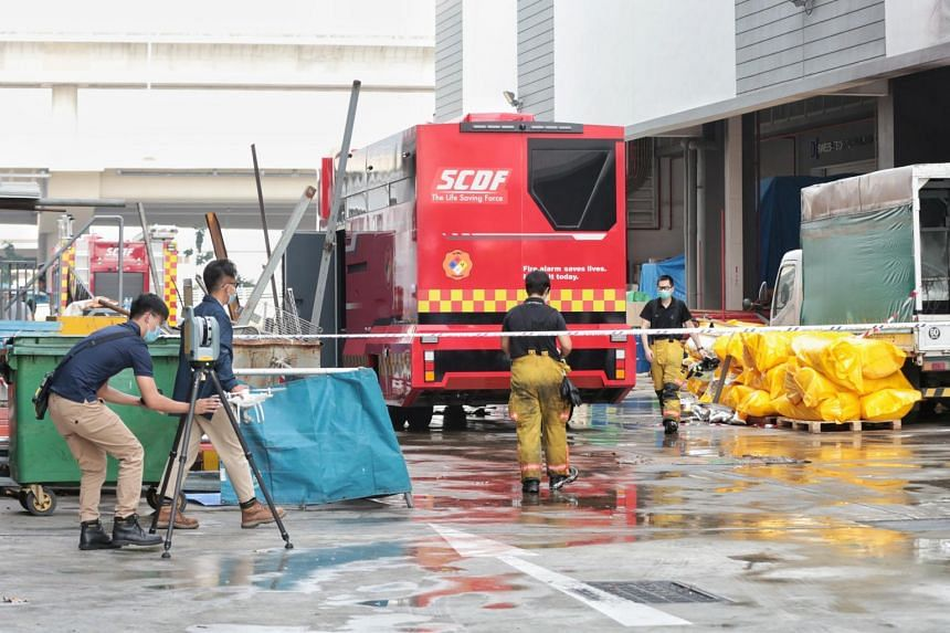 The explosion was caused by the accumulation of potato starch in a confined environment.