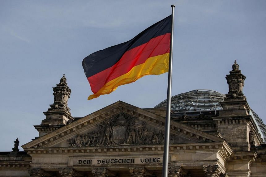 The suspect worked for a company contracted to carry out checks on electric equipment in the German Parliament.