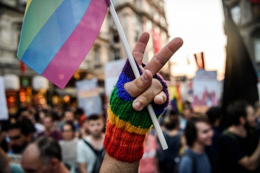 The increase was largely driven by Generation Z adults - aged 18 to 23 - 15.9 per cent of whom said they were LGBT+.