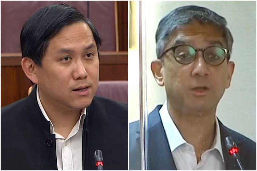 MPs Alex Yam and Leon Perera spoke in Parliament over the use of Singapore's reserves.