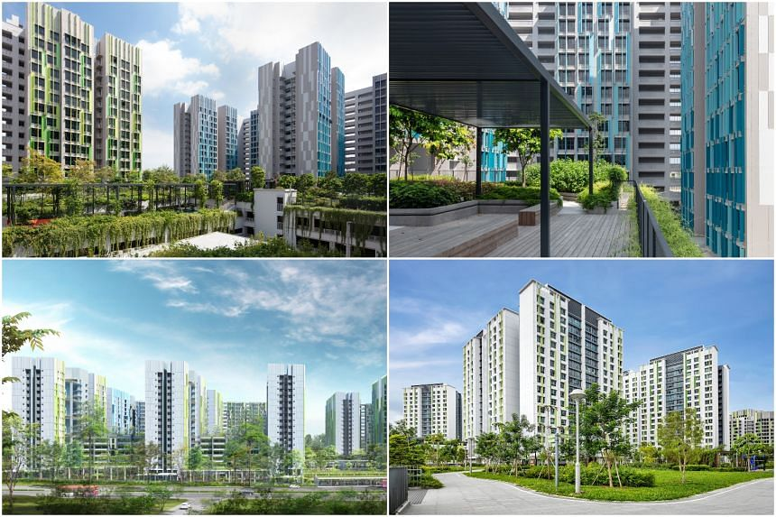 The flats are spread across three projects - Alkaff Vista, Alkaff LakeView and Alkaff CourtView.