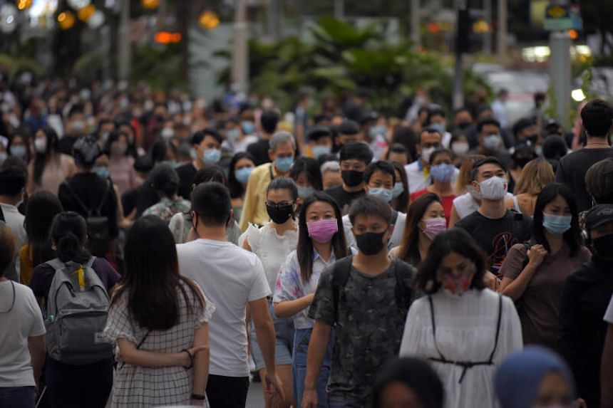 From June 2019 to June 2020, Singapore's total population size dipped slightly by 0.3 per cent.