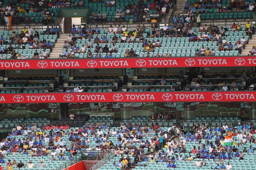 Crowds of up to 30,000 were allowed during the Boxing Day cricket Test between Australian and India in December.
