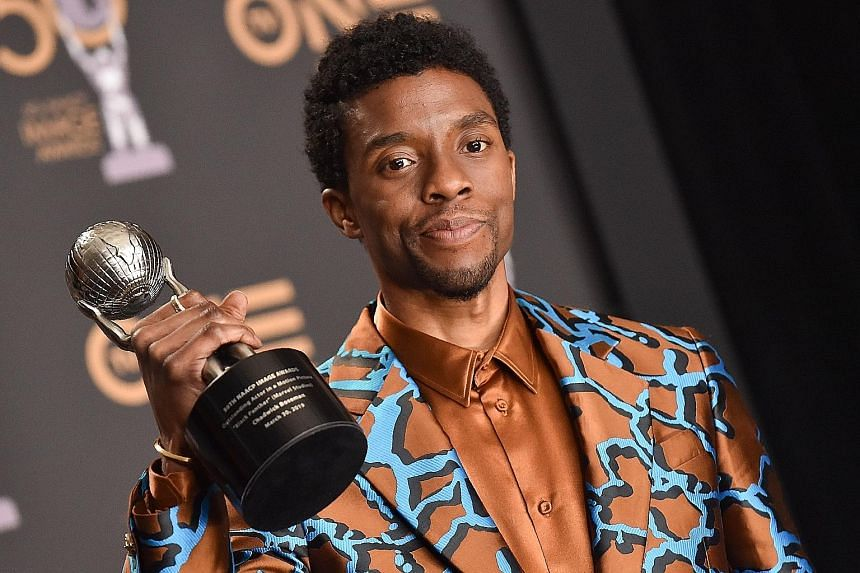 IN THE RUNNING: This year's nominees include The Trial Of The Chicago 7 for Best Drama Film; Aaron Sorkin and Chloe Zhao for Best Director; Carey Mulligan and Frances McDormand for Best Actress; and the late Chadwick Boseman (above) for Best Actor.