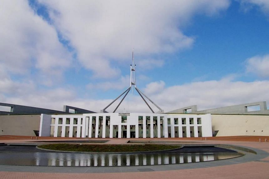 Parliament House in Canberra. Australian police are looking into an alleged rape said to have involved a current minister.
