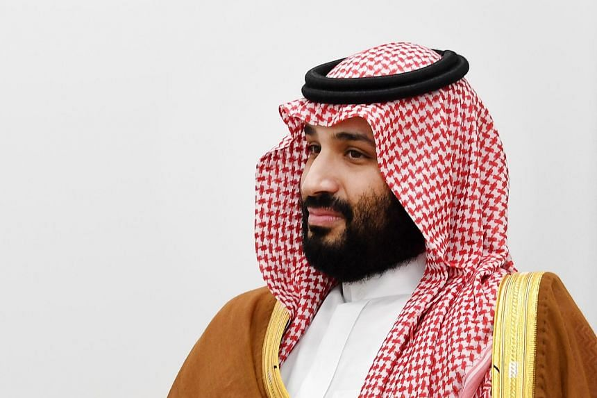 """Many Saudis flooded Twitter with the hashtag saying, """"We are all Mohammed bin Salman."""""""