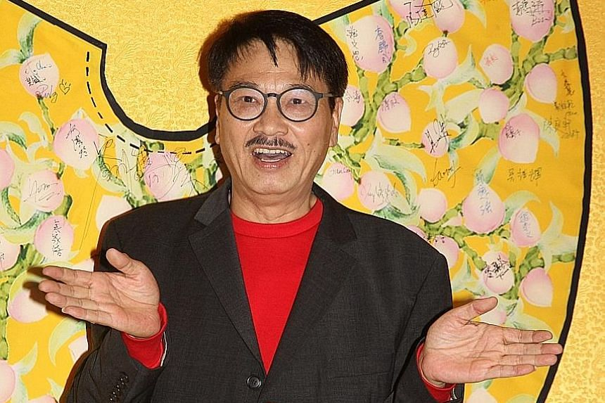 Ng Man Tat, who acted in Stephen Chow movies such as Hail The Judge and A Chinese Odyssey, had liver cancer and was admitted to hospital on Feb 20. PHOTO: APPLE DAILY