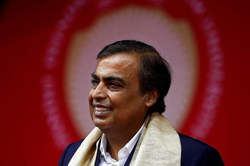 Indian tycoon Mukesh Ambani, chairman of Reliance Industries, has a net worth of about $106.6 billion.