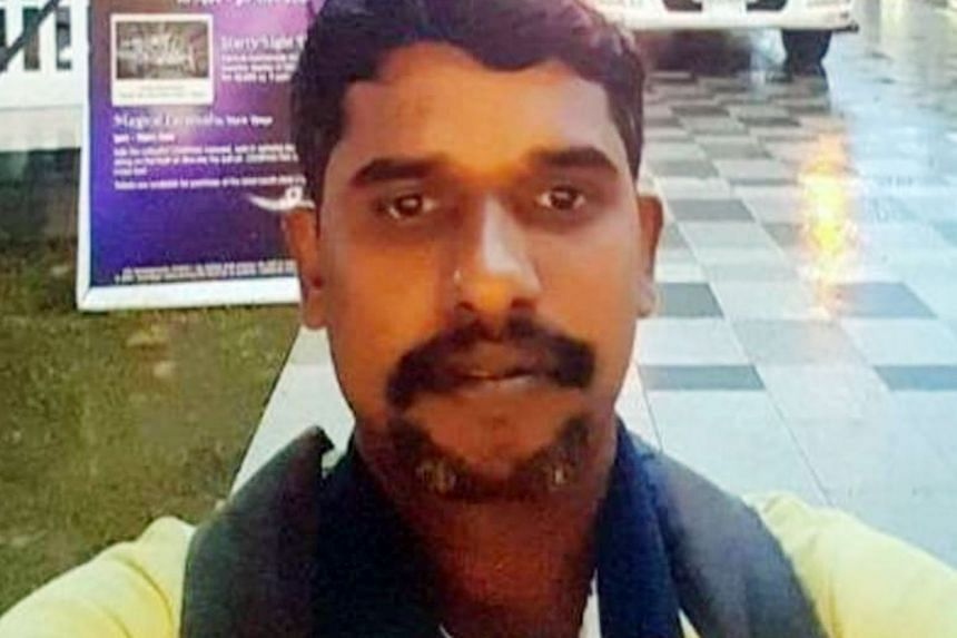 Foreign worker Marimuthu S. was one of three workers who later died of their injuries.