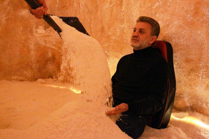 The Opal centre in Benghazi opened Libya's first-ever artificial salt caves to clients last October.