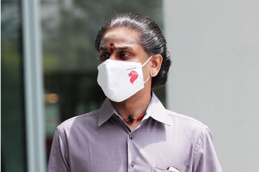 Kandasamy Senapathi was charged with five counts each of criminal breach of trust and dealing with the benefits of his alleged criminal activities.