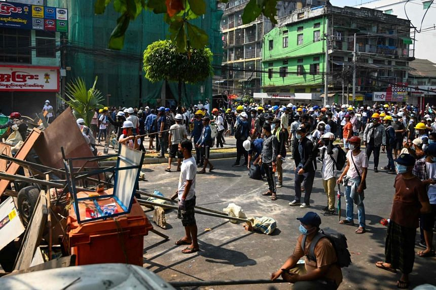 At least 18 people were killed as the military regime cracked down on protesters across the country.