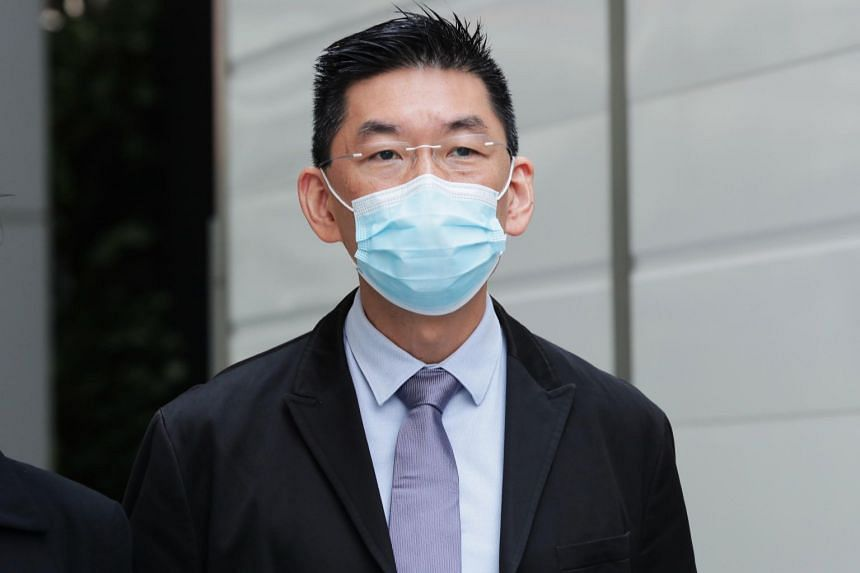 Yeo Sow Nam is accused of committing the offences on the 12th storey of the hospital in Orchard on the evening of Oct 9, 2017.
