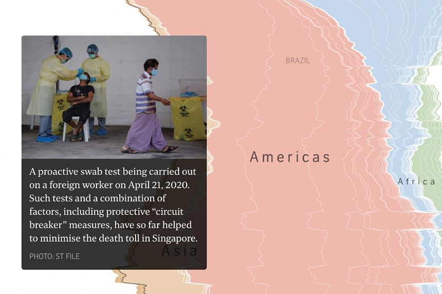 The project captured the many twists and turns of the pandemic.