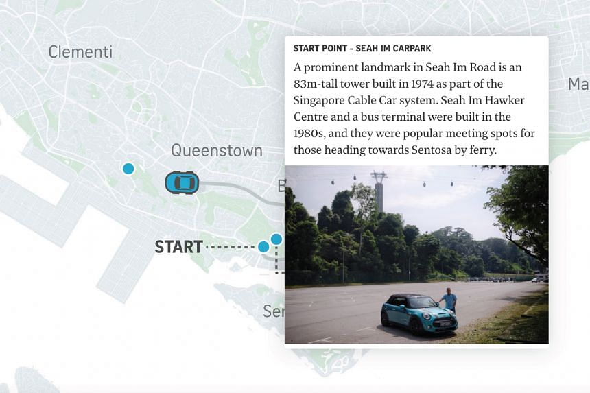 A popular project that took readers on a 200km drive around Singapore also got the nod from judges.