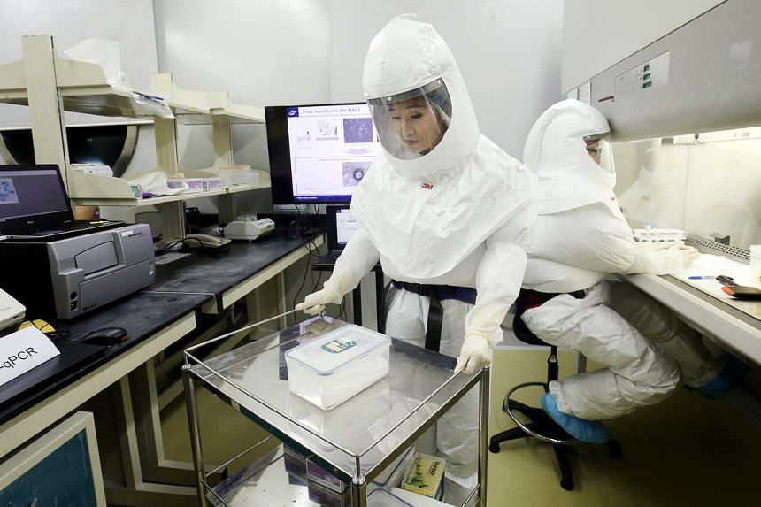 The upgraded biosafety laboratory will comply with MOH's National Biosafety Standards for Maximum Containment Facilities.