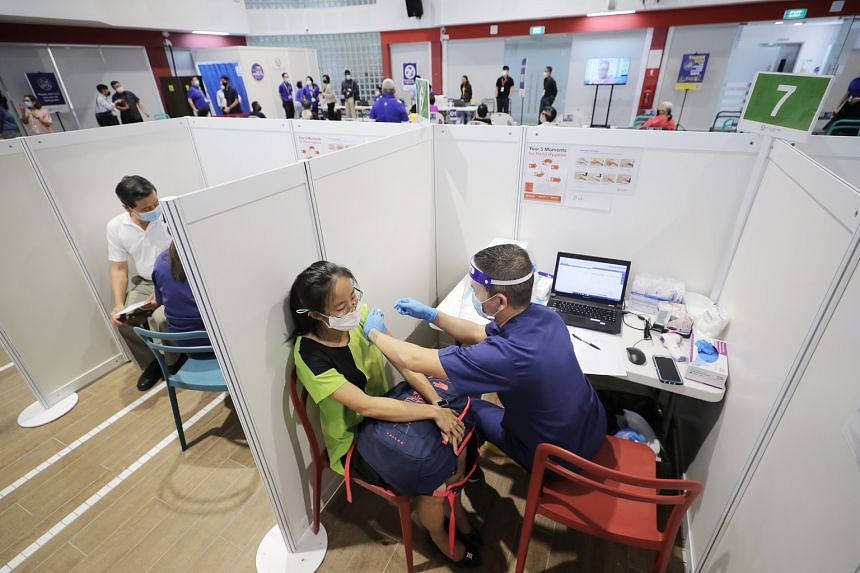In Singapore, over 250,000 people have received the first dose of the vaccine.
