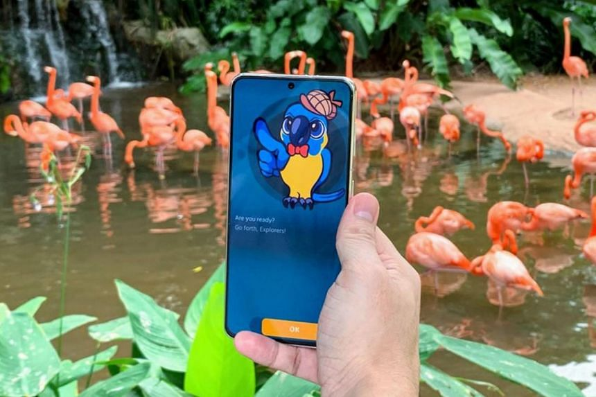 Jurong Bird Park will launch the park's first digital game trail.