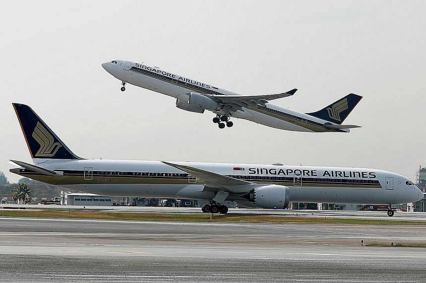 Singapore Airlines' latest numbers show it used some $400 million over the past two months - translating into a cash burn of $200 million a month. This is a significant improvement from the $350 million a month it burned through between April and Sep