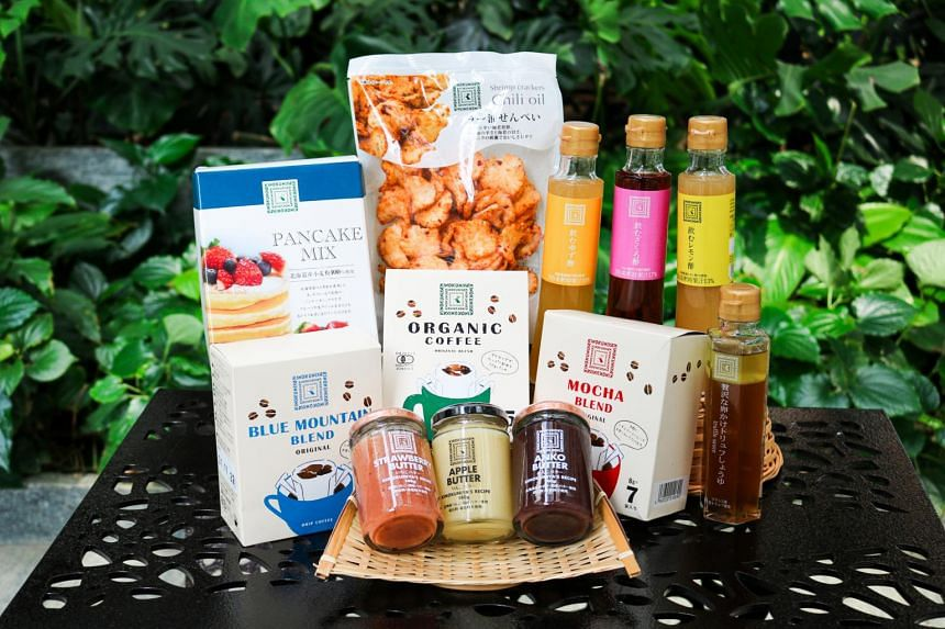 A small selection of its bestsellers in Japan are available in Singapore.