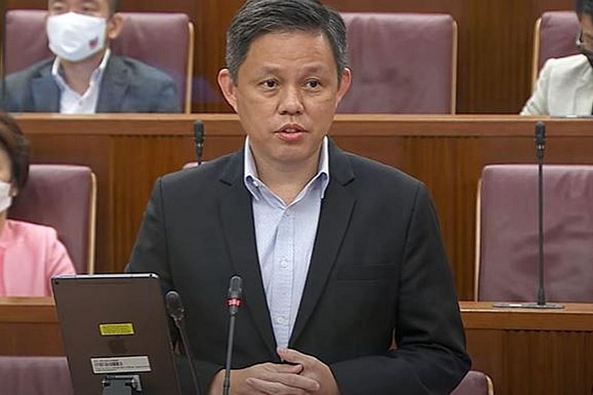 Giving the semiconductor industry as an example, Trade and Industry Minister Chan Chun Sing said the focus should be less on Singapore's global market share and more on whether it has access to the intellectual property to produce the chips and build