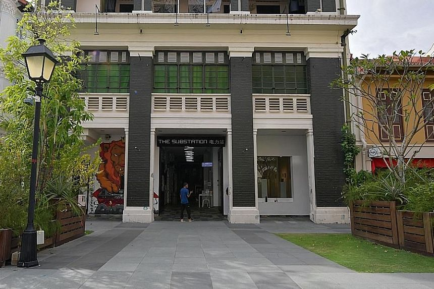"""The conserved building at 45 Armenian Street. The National Arts Council called The Substation board's decision a """"missed opportunity""""."""