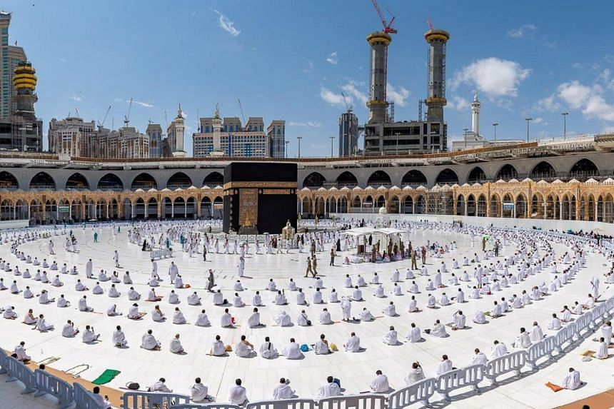 Crowds of millions of pilgrims from around the world would likely be a hotbed for virus transmission.
