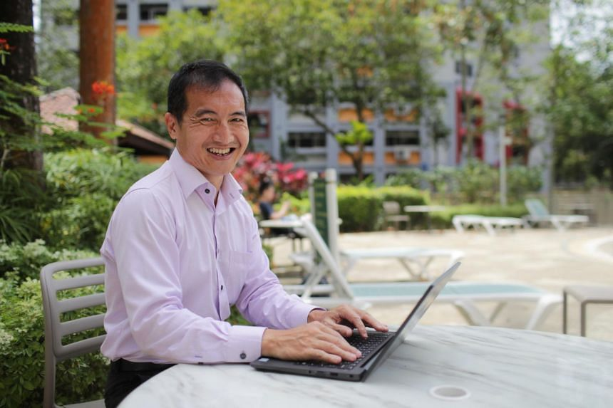 Mr Arnold Lim's role involves managing projects from IT risk management to security auditing.